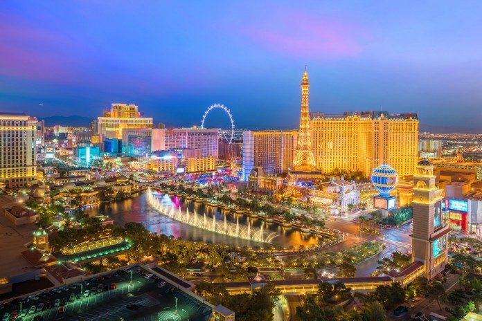 Las Vegas sunset casinos