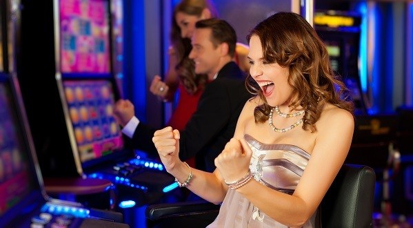 Wining slot machine