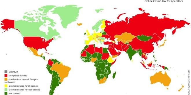 map of legal gambling
