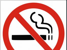 smoking forbidden