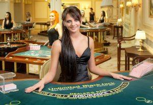 blackjack casino dealer