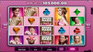 bridesmate movie slot machine