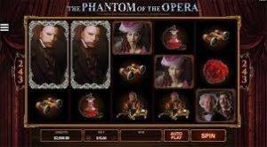 phanotom of the opera slot machine