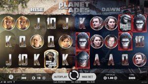 planet of apes slot machine