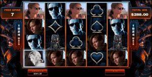terminator 2 movie themed slot