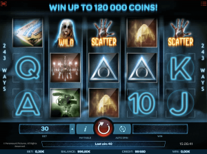 paranormal activity movie based slot
