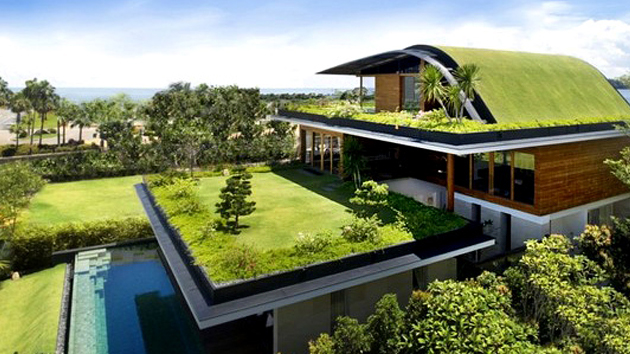 eco friendly house