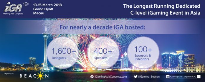 10th Anniversary iGaming Asia Congress