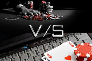 Online Versus Live poker