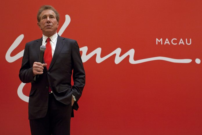 chief executive of Wynn Resorts