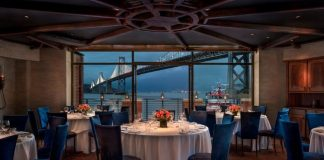 Top starred michelin restaurants in SF