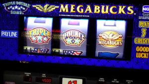 Megabucks slot machine