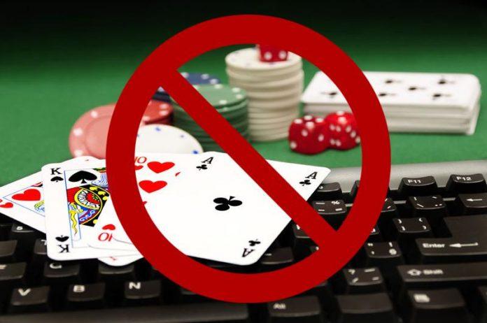 gambling ban