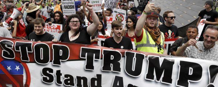canadian protest trump