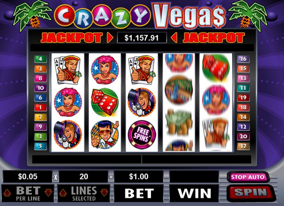 Онлайн казино крейзи вегас играем в казино в самп рп
