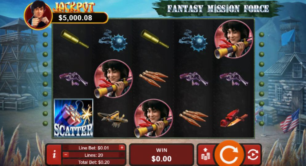 Fantasy Mission Force Slots