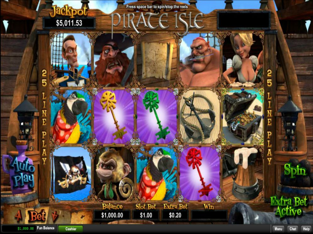 Pirate Isle Slots