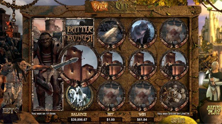 Orc vs Elf Slots
