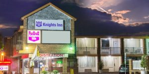 Knights Inn in Atlantic City, NJ