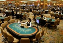 Gambling Revenues from Macau Rise in August