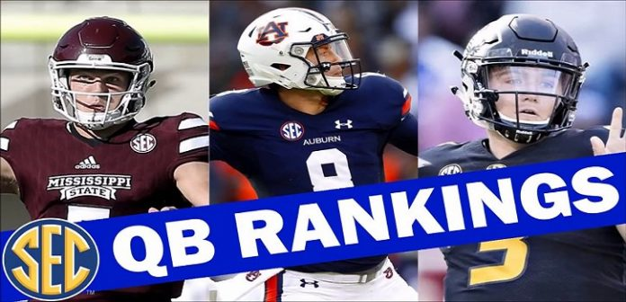 Power Ranks of SEC Quarterbacks For Gamers