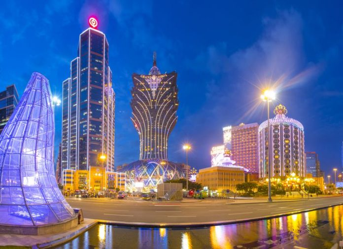 Macau casino Skyline
