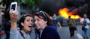 Taking Selfies in Dangerous Situations