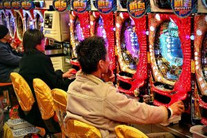 Pachinko Slot machine Japan