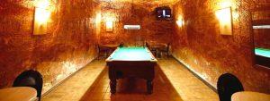 The underground casino in Desert Cave Hotel
