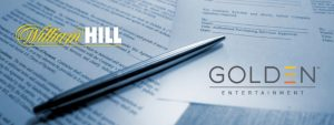Agreement between William hill and Golden Entertainment