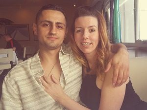 Dimitrios Patlias and Tonya Smith