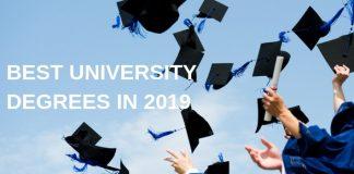 Best University Degrees in 2019