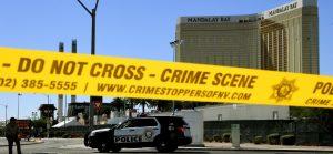 The Las Vegas massacre crime scene
