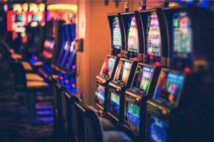 empty slots machine room