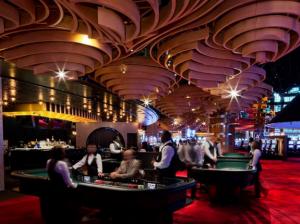Ocean Casino interior