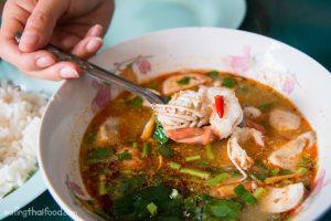 tom yum goong Bangkok