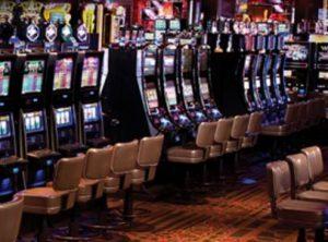 Empty seats at the Casino