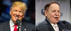 Adelson's Association with President Trump