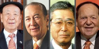 Asia's Wealthiest Casino Owners
