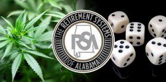 Retirement Systems of Alabama All in for Gambling and Marijuana Legislation