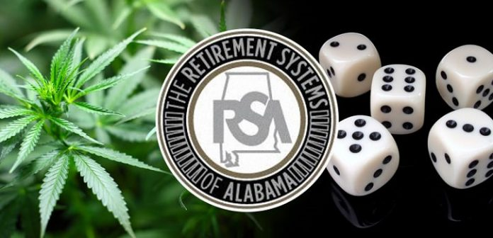 Retirement Systems of Alabama All in for Gambling and Marijuana Legislation
