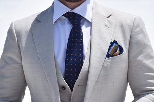 tie for Semi Formal Occasion