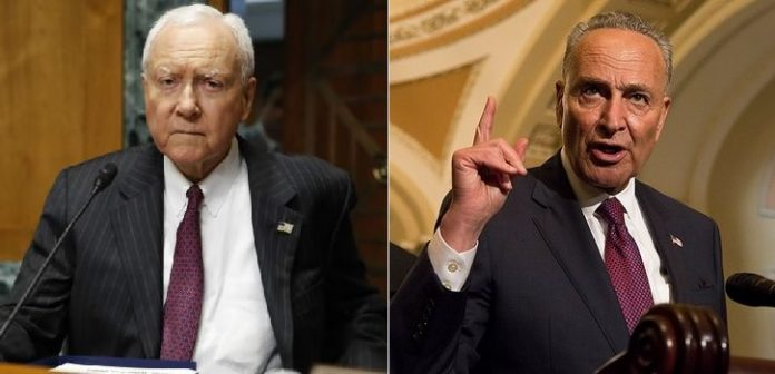 U.S. Senators Hatch and Schumer to Introduce Federal Gambling Bill