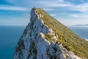 Gibraltar limestone rock