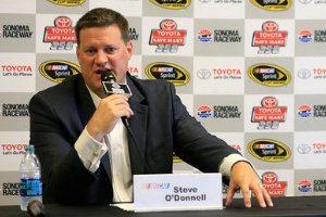 NASCAR's executiveSteve O'Donnell