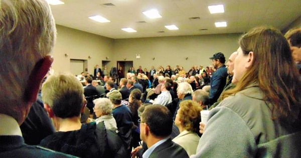 Over 250 attend hearing for proposed casino near Morgantown