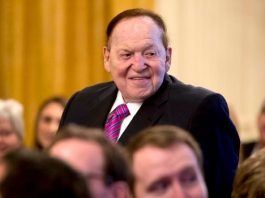 Sheldon Adelson May Have Influenced a Decision on the Wire Act