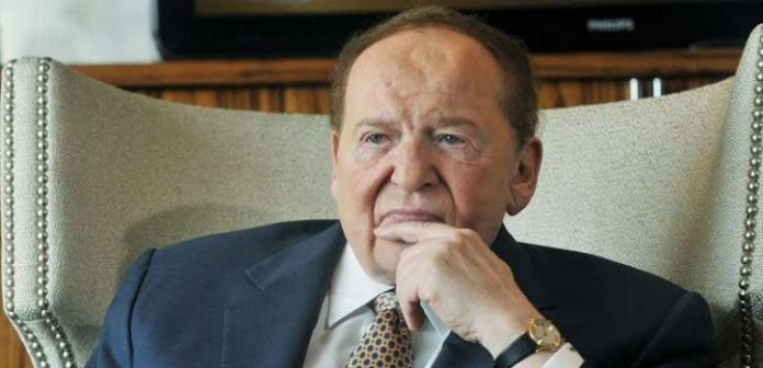 What Does Adelson Have to Do With the Slowing Of Online Gaming?