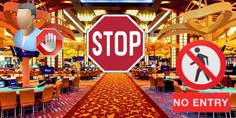 The Self-Exclusion Casino - Where Players CanT Keep Any Winnings!