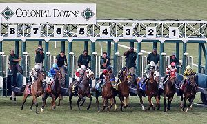 Colonial Downs race